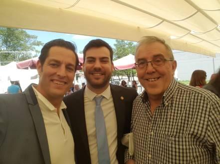 With my advisor and my superadvisor